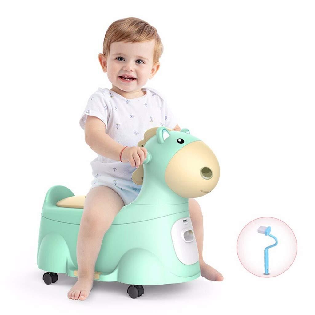 XWJC Large Children's Toilet Female Baby Toilet Seat Stool Infant Toilet Bowl Urinal