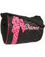 Girls Dance Duffle Bag with Shoulder Strap