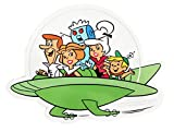 Licenses Products Hanna Barbera Jetsons Family Ship Sticker