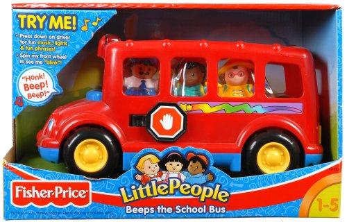 Fisher-Price Beeps the School Bus: Amazon.co.uk: Toys & Games