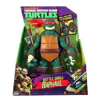 Teenage Mutant Ninja Turtles Battle Shell Raphael Action Figure 6
