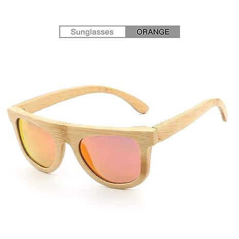H.Y.FFYH Gafas de Sol Gafas de Sol de bambú Hechas a Mano ...