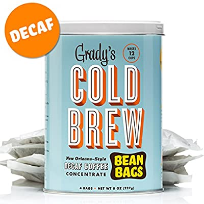 Grady's Cold Brew Iced Decaf Coffee Bean Bags