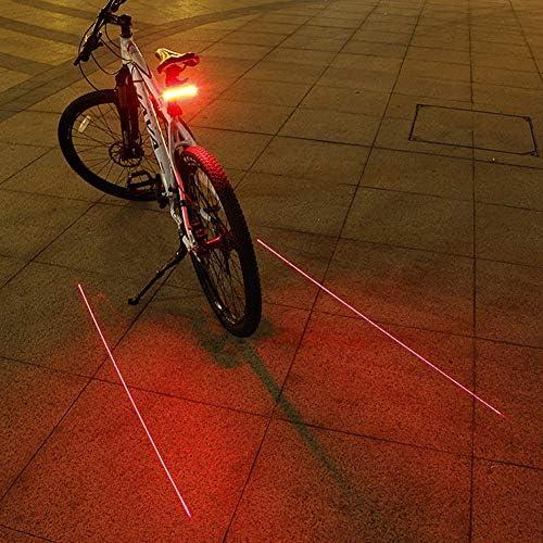 SYH USB Recargable De La Bicicleta Luz Trasera para La Ciudad De ...