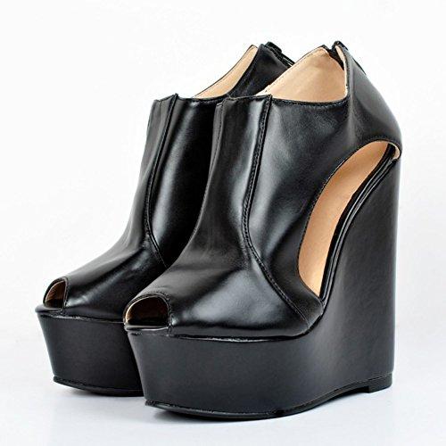 Slippers Kolnoo Hi Noir Top femme EEnfwrq8