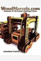 WoodMarvels.com, Volume 2: Laser Cutting Plans Paperback