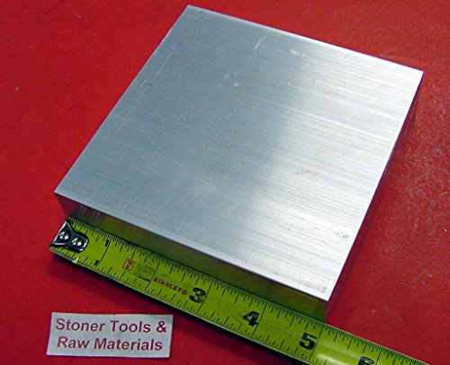 1-1/4″ X 5″ ALUMINUM 6061 T6511 SOLID FLAT BAR 5″ long 1.250″ Plate Mill Stock
