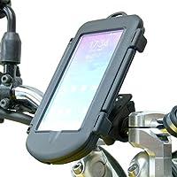 Motorcycle Handlebar Mount & Waterproof Case for Samsung Galaxy Note 4 (sku 30291)