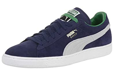 sports shoes 88350 22f59 Puma Suede Classic RTB Leather Sneaker Men Trainers navy 356850 08, shoe  size EUR