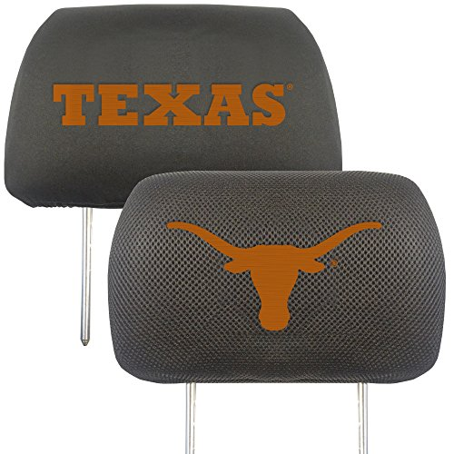 - University of Texas Head Rest Cover (Set of 2)