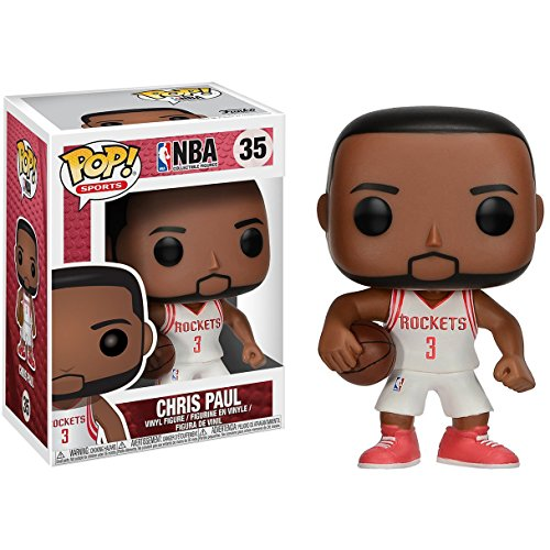 - Funko Chris Paul: NBA x POP! Sports Vinyl Figure & 1 POP! Compatible PET Plastic Graphical Protector Bundle [#035 / 21809 - B]