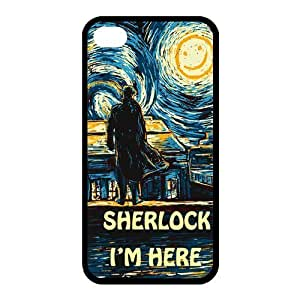 Diy iPhone 6 plus High Quality Customizable of Durable Rubber Material I am Sherlock iPhone 6 plus observed Back Cover the Case get
