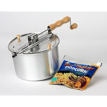 how to use stovetop popcorn popper