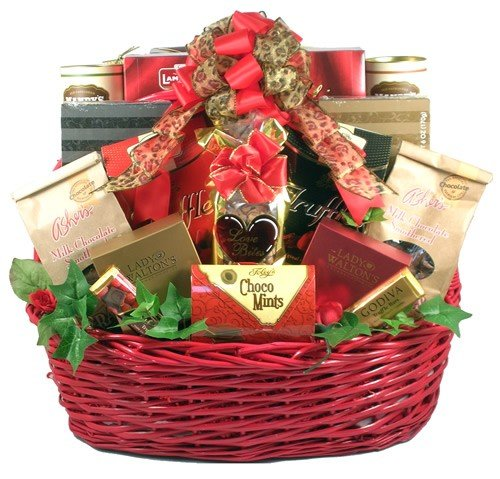 Gift Basket Drop Shipping LoBi Love Bites44; Deluxe Gift Basket by Gift Basket