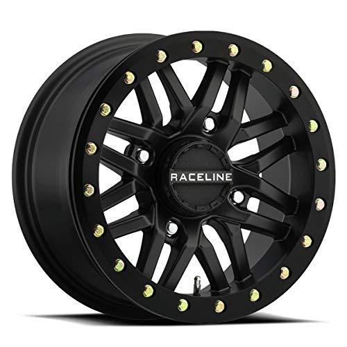 17-18 CAN-AM MAVX3XRS: Raceline Ryno Beadlock Wheel (Front / 15X7 / 4/137 5+2) (Black)