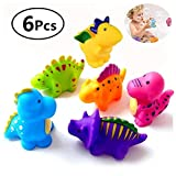 Bathtub Toys Dinosaur Baby Bath Toys, Fun Squirt Toys Floating Bathroom Toys,Perfect Children Gift for Kids Infant toddlers(6pcs)