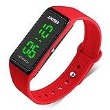 LED Watch Fashion Sport Waterproof Digital Watch for Boys Girls Men Women Bracelet Watch