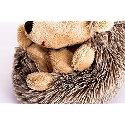 Dilly dudu 20CM Hedgehog Stuffed Animal,Plush toy,Soft Toy Gift Children Girlfriend(8 inches): Toys & Games