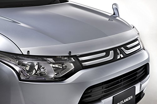 Mitsubishi Genuine Clear Hood Bug Gravel Deflector/Protector Outlander 2014 2015 2016 2017 2018