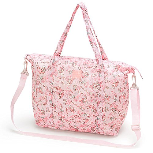 Sanrio My Melody Folding Tote Bag Travel From Japan New (Famous People With Wigs)