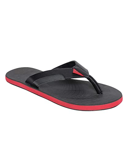 eb0c6bb6c PUMA Men s Oleum IDP Dark Shadow Black-High Risk Red Flip Flops Thong  Sandals-