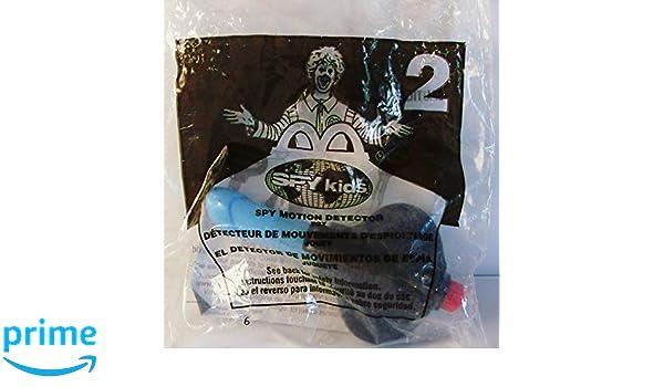 Amazon.com: McDonalds Happy Meal Spy Kids Spy Motion Detector #2: Toys & Games