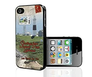 Greetings From Montauk Point Lighthouse Long Island, New York iPhone 6 plus 5.5 case