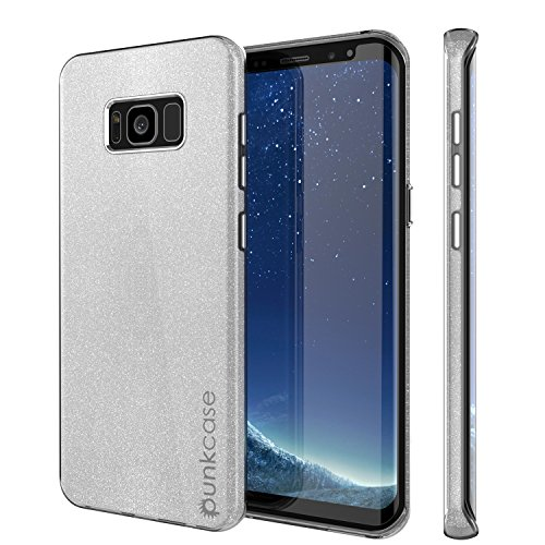 S8 PLUS Case, Punkcase Galactic 2.0 Series Ultra Slim Protective Armor TPU Cover w/ PunkShield Screen Protector | Lifetime Exchange Warranty | Designed for Samsung Galaxy S8 PLUS Edge ()