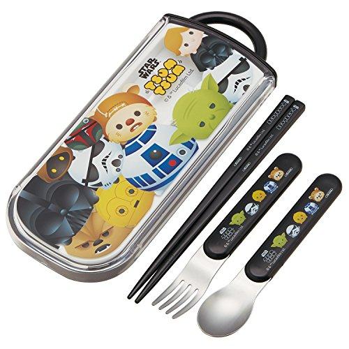 Skater Spoon Fork Chopsticks Trio Set Star Wars