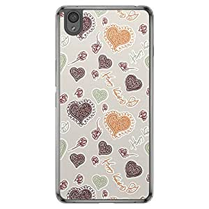 Loud Universe OnePlus X Love Valentine Printing Files Valentine 20 Printed Transparent Edge Case - Multi Color