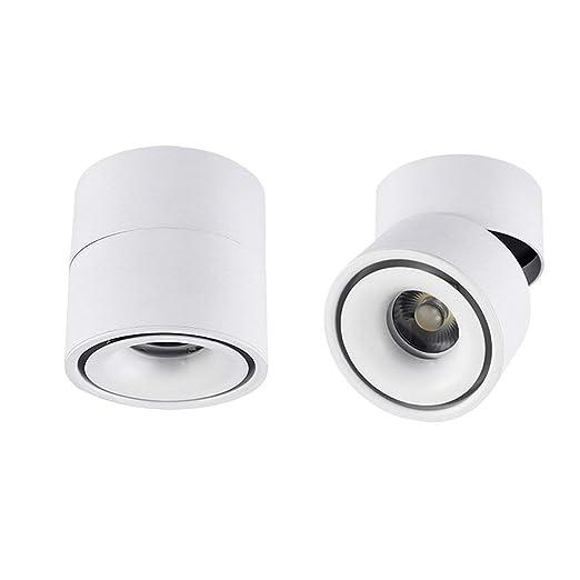 Hobaca® Dia 10 * H10cm 12w Focos montados en superficie LED ...