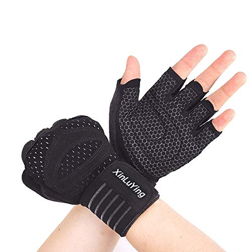 Welteayo Ventilated Weight Lifting Gloves