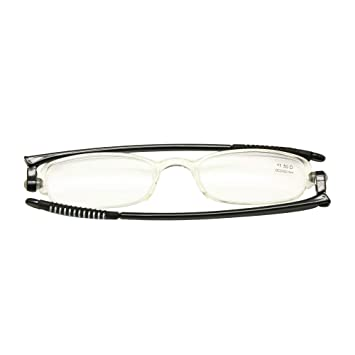 86581acbeec5 Folding Flat Thin Reading Glasses with Portable Case Presbyopia +Rx +1.0 to  +3.5