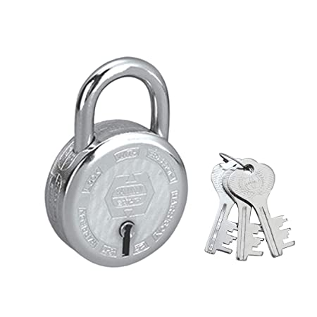 Harrison T-26/BCP-0276 Steel 7 Levers Padlock with 3 Keys