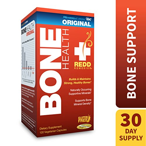 Bone Health (Redd Remedies - Bone Health Original, Vitamin D3 and Calcium for Strong Bone Support, 120 count)