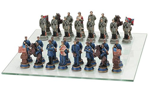 Civil War Themed Chess Piece - War Piece Chess Themed