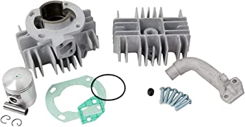 Cylinder Tuning Replacement Part For Compatible With Airsal Hercules Prima M Sachs 504 505 Engine 65 Cc Auto