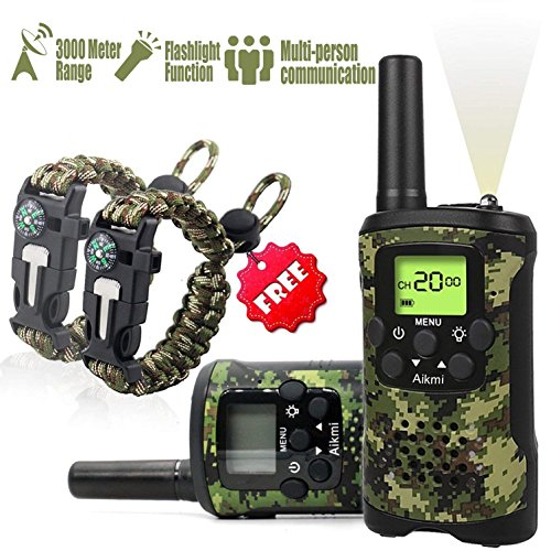 Amazon Kids Walkie Talkies Set