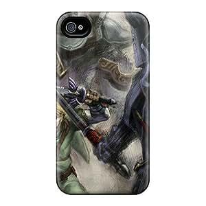 New Arrival GUz10136Fctx Premium Iphone 4/4s Cases(link Concept The Legend Of Zelda)