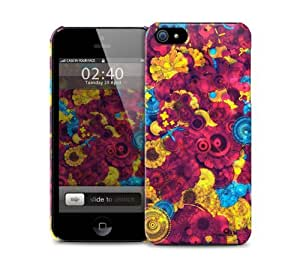 Colourful Abstract Pink Pattern iPhone 5 / 5S protective case
