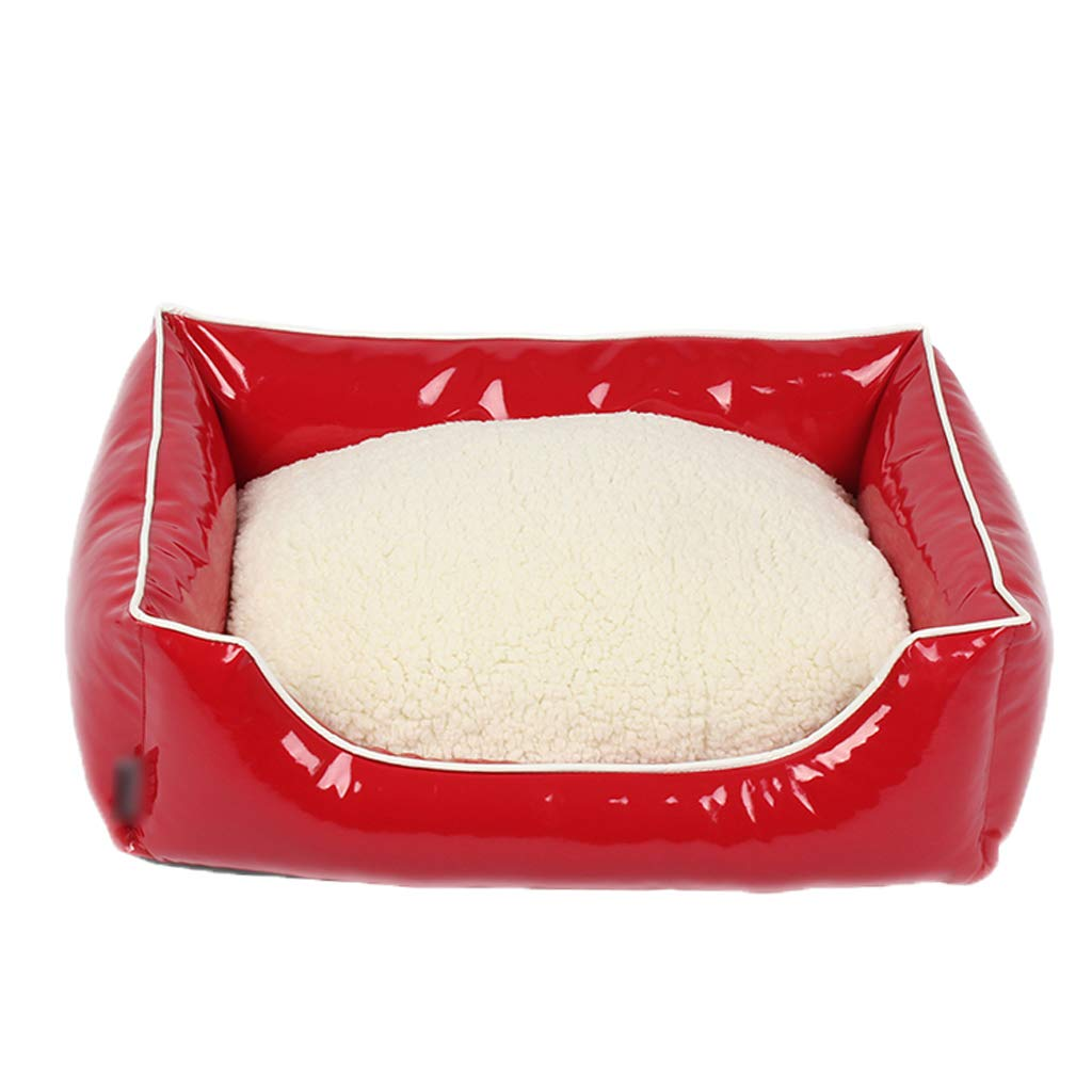 Red 706017cm Red 706017cm Kennel GAOLILI Pet Durable And Good Care Teddy VIP Bright Season Dog Washable Cat Nest Dog Bed (color   RED, Size   70  60  17cm)