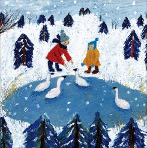 Biglietti di Natale, confezione da 5–Olga ezova-denisova–dicembre delizie