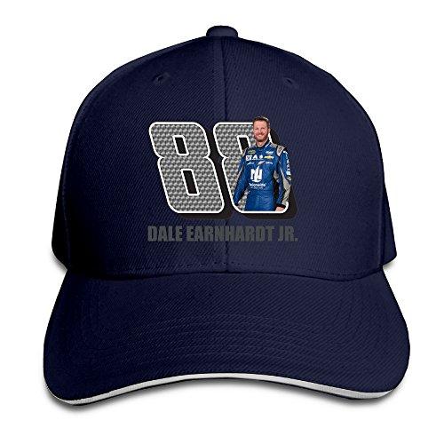 ACMIRAN Dale Earnhardt Jr. Personalize Sun Hat One Size Navy (Jason Derulo Sweatshirt)