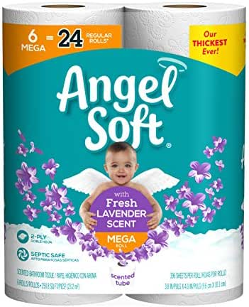 Toilet Paper: Angel Soft Scented