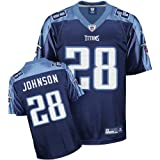 Reebok Tennessee Titans Chris Johnson Replica Alternate Jersey XX Large