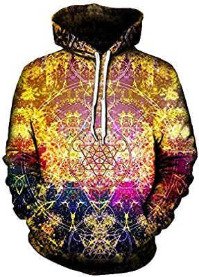 Dawery Unisex 3D Printed Hoodies Pullover Hooded Sweatshirt Pineal Metatron Hoodies Men Women Long Sleeve Autumn Winter Hoodie Sweatshirt Casual Pullovers ...