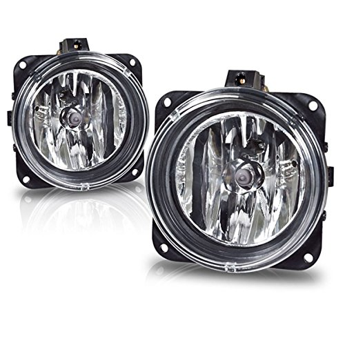 Fog Lights For Ford Focus (SVT Model Only) 2000-2005 Escape 2005 2006 Mustang (Cobra Model Only) 2003 2004 Lincoln LS 2002 (OE Style Real Glass Lens w/Bulbs) (Light Cobra)
