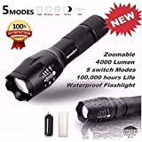 Mapletop LED Flashlight G700 SkyWolfeye X800 Zoom Super Bright