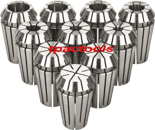 5PC CAT40 ER16 Collet Chuck with or without 10PC ER16 Collets for HAAS or Mazak by TPACTOOLS