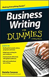 HBR Guide to Better Business Writing  HBR Guide Series   Bryan A     Amazon com Business Writing For Dummies